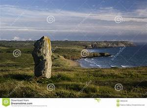 Lonely Megalith Stock Photo - Image: 38952046