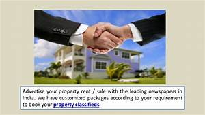 Property ads in all indian newspapers