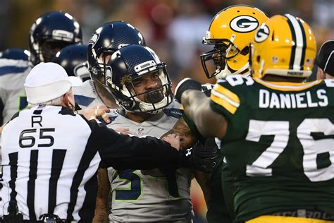 seattle seahawks  green bay packers touchdown wire