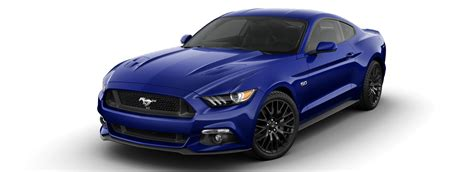 Ford Mustang Uk Colours Guide And Prices