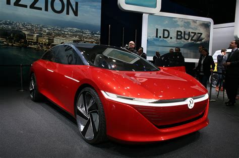 Volkswagen I.d. Vizzion Concept Is The Family Sedan Of The