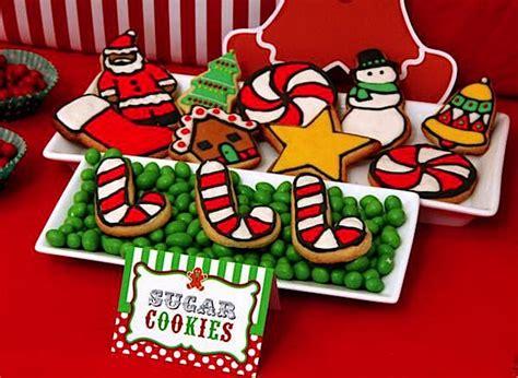 kara s party ideas christmas sweet shop girl boy 1st