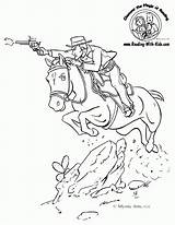 Coloring Pages Cowboy Western Printable Horse Cowboys Colouring Adult Books Sheets Fantasy Reading Cow Clipart Dragon Adults Boys Popular Patterns sketch template