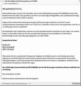 Klarna Bank Rechnung : falsche rechnungen immer noch und wieder da mimikama ~ Themetempest.com Abrechnung