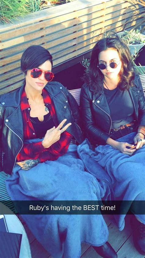 ruby rose snapchat 61 best ruby rose snapchat screenshots images on pinterest