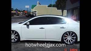 2011 Nissan Maxima On Staggered 22 U0026quot  Savini U0026 39 S  Hot Wheelz