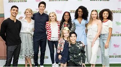 Zombies Disney Cast Channel Milo Screening Stars
