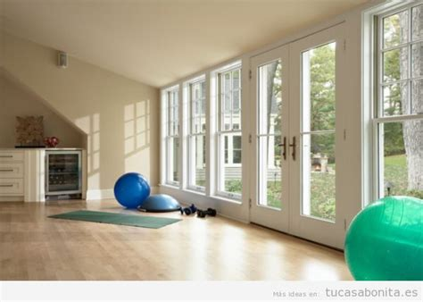 ideas  disenar amueblar  decorar  gimnasio