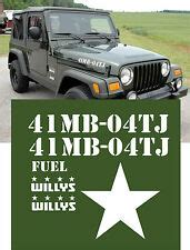 willys jeep decal ebay