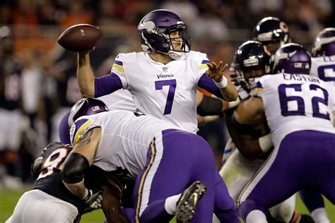 Backup QB Case Keenum leads Vikings to win over Bears on ...
