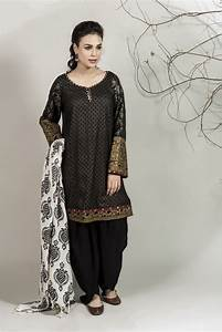 Winter Party Wear Dresses by Maria B Stitched Collection 2018-2019