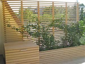 Bildergalerie holzterrasse holz pur terrassendielen for Sichtschutz holz terrasse