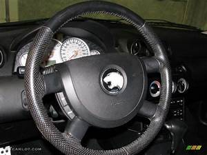 2001 Mercury Cougar V6 Medium Graphite Steering Wheel