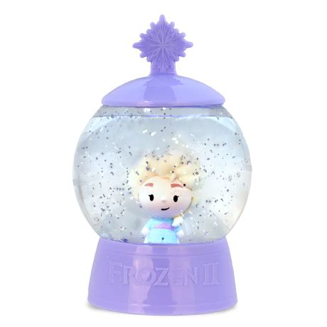 disney frozen  snow globe suprise basic fun