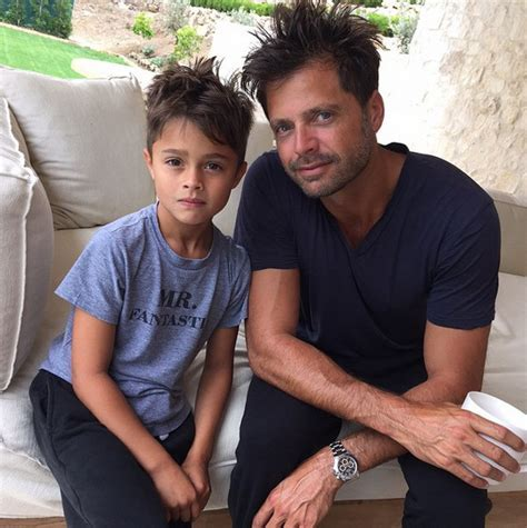 David Charvet and son Shaya   The Cutest Dads and Their