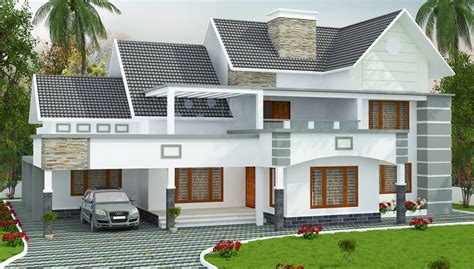 2880 Square Feet Double Floor Contemporary Home Design