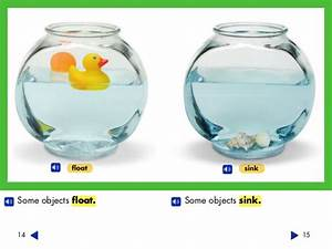 Sink Or Float Objects