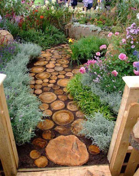 Pebble Epoxy Flooring Diy by 40 Diy Log Ideas Take Rustic Decor To Your Home Amazing
