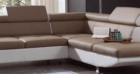 canape d angle taupe davaus salon moderne blanc et taupe avec des idées