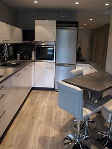 56 amenagement cuisine ouverte sur salon home id With amenagement salon cuisine ouverte
