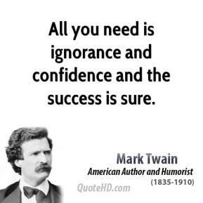 Mark Twain Success Quotes | QuoteHD