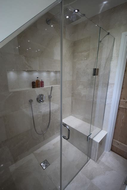 small luxury shower room contemporary bathroom