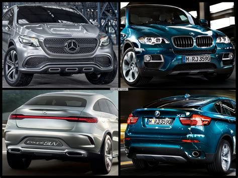 Photo Comparison Mercedes Benz M Class Coup Concept