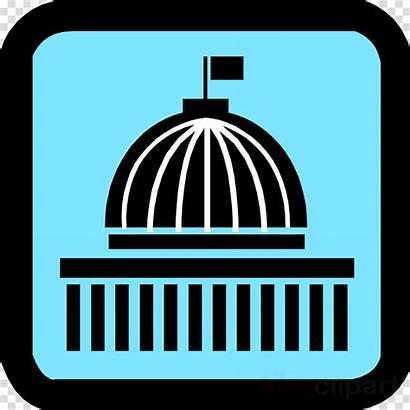 Government Clip Clipart Central Building Icon Cartoon