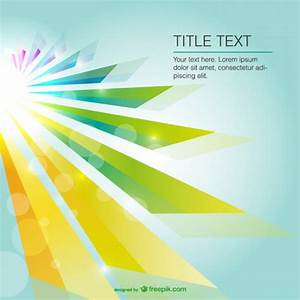 Abstract sun light background with bokeh effect Vector ...