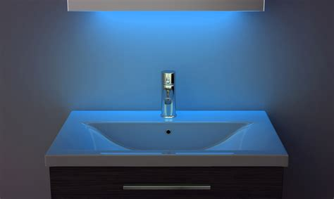 Ambient Shaver Led Bathroom Mirror With Demister Pad