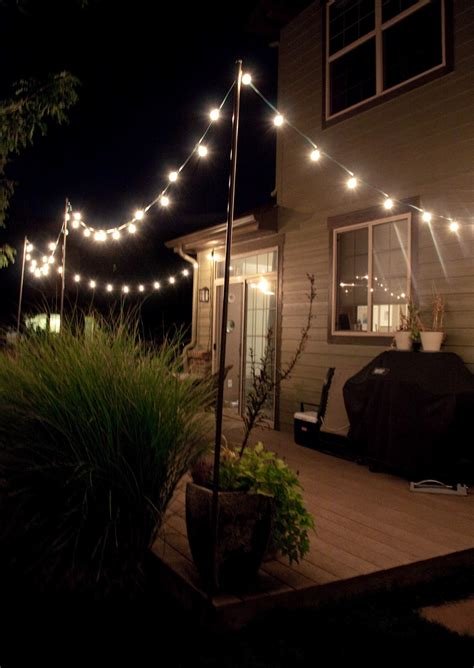 Backyard String Lighting Ideas by 100 Best Ideas About Unique Outdoor Lighting Theydesign
