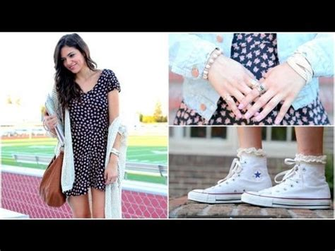 Perfect Back to School Hair Makeup u0026 Outfit! - YouTube