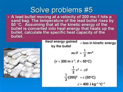 Chapter 4 Heat 42 Specific Heat Capacity  Solved Problems