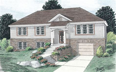 raised ranch house plans  photo gallery house plans
