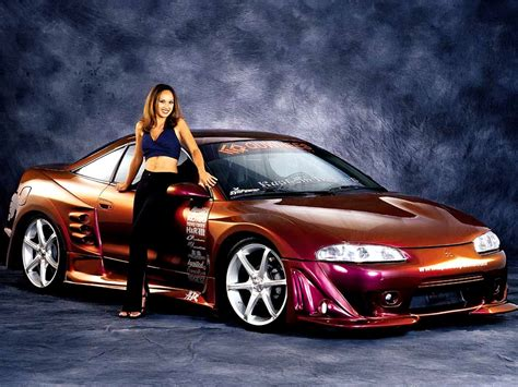 Amazing Girls Cars Wallpapers