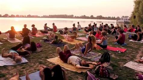 Patrizia Mantovani by True Vinyasa Flow Practice On Mantua Lake By