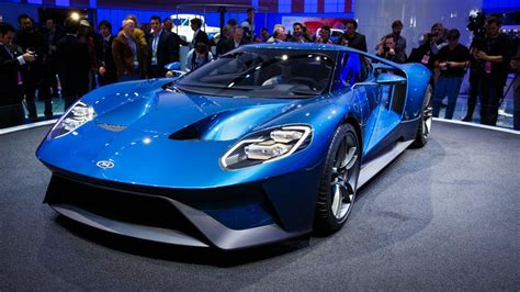 The New Ford Gt Is A 600-horsepower, Twin-turbo, Carbon
