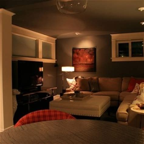 basement remodel ideas low ceilings