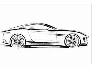 Dessin Jaguar Facile : salon de francfort 2011 jaguar c x16 production concept la e type moderne se dessine ~ Maxctalentgroup.com Avis de Voitures