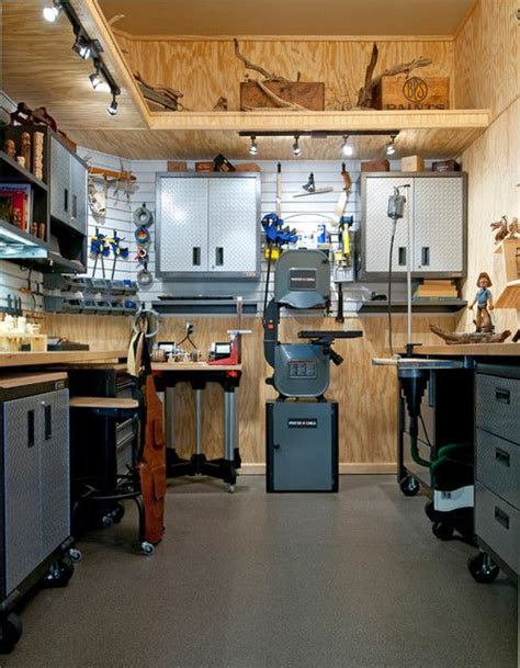 organizing storage shed woodworking shop plans