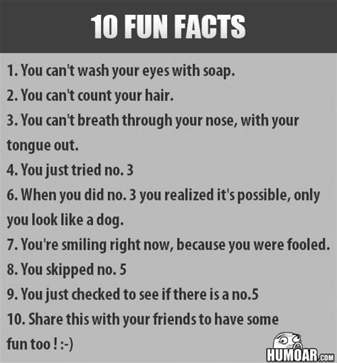 10 Fun Facts  Humoarcom  Your Source For Moar Humor