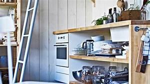je veux une cuisine peu conventionnelle diaporama photo With cuisines aménagées originales