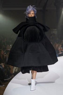 rei kawakubo explored  theme  invisible clothing