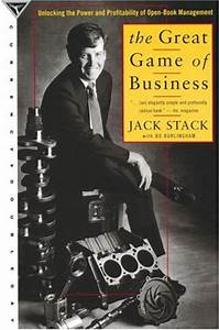 On The Great Game Of Business