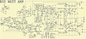 800w Amplifier Diagram
