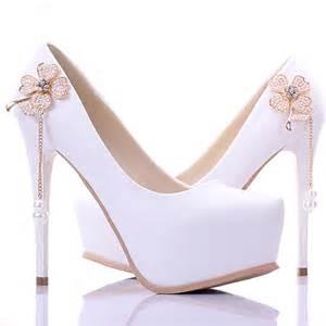 cheap bridesmaid shoes cheap new arrival concise white bridesmaid shoes 5 inch fashion single high heels