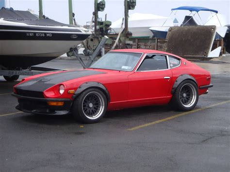 Datsun 240z Fender Flares Wallpaper