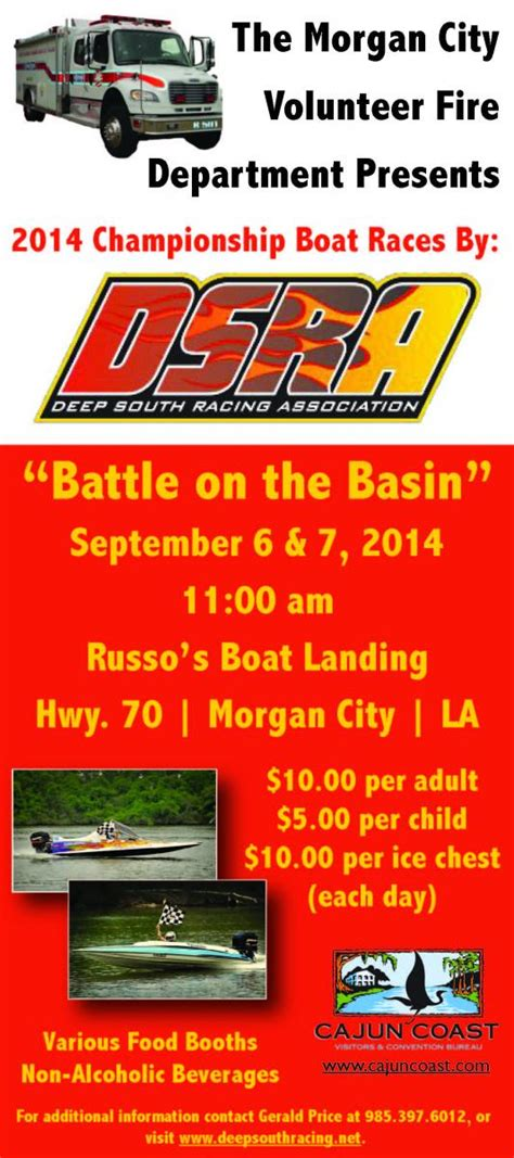 Dsra Boat Racing by South Chionship Boat Racing Louisiana Kitchen