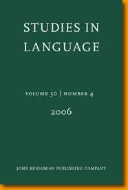 thomas payne describing morphosyntax studies in language