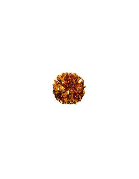 Poms 6 Metallic Orange